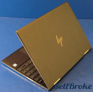 HP Spectre 13-ae013dx Laptop Back Left