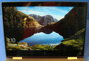 HP Spectre 13-ae013dx Laptop Display