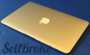 MacBook Air A1370 Laptop Lid and Logo
