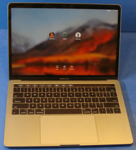 MacBook Pro A1706 Laptop Front