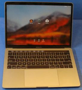 MacBook Pro A1706 Laptop Front