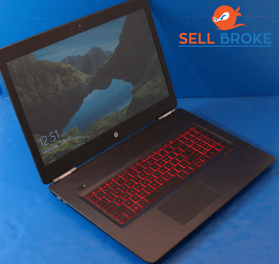 HP OMEN 17-w033dx  Second Hand Gaming Laptop | SellBroke