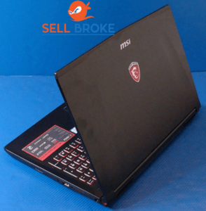 MSI GE62 Back