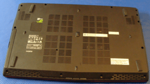 MSI GE62 Bottom