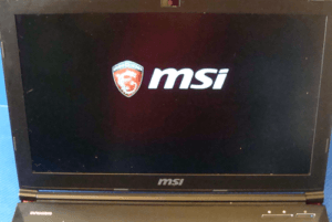 MSI GE62 Display
