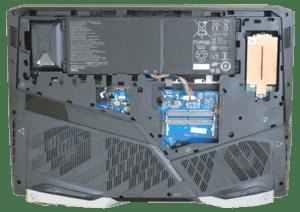 Acer Helios 500 Bottom