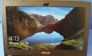 Asus GL502VMK Display
