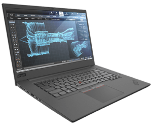 Lenovo Thinkpad P1 Left Angle