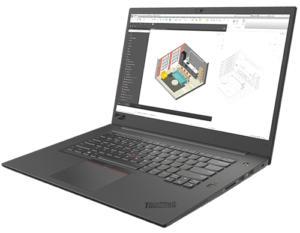 Lenovo Thinkpad P1 Right Angle