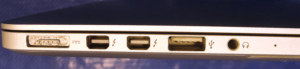 MacBook Pro A1425 Ports Left