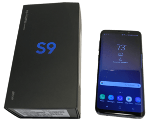 Samsung Galaxy S9 With Box