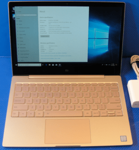 Xiaomi Notebook Pro Front
