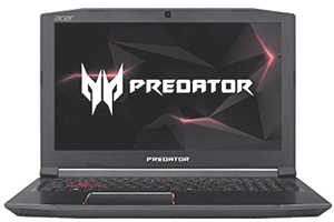 Acer Predator Helios 300 Front View